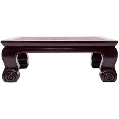 19th Century Chinese Low Luohan Table