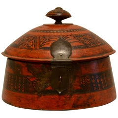 Antique Pakistani Tribal Spice Box