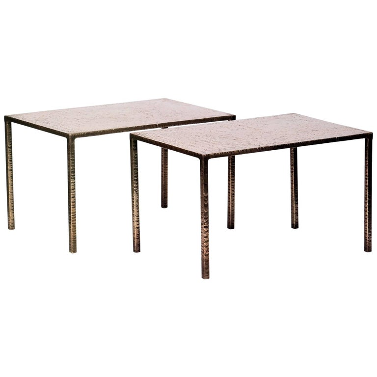 Costa Coulentianos Pair of Side Tables