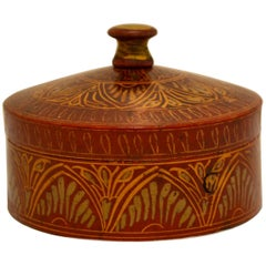 Vintage Afghani Tribal Spice Box