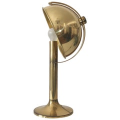 Modernist Brass Table Lamp T 161-MS by Florian Schulz, 1970s, Germany