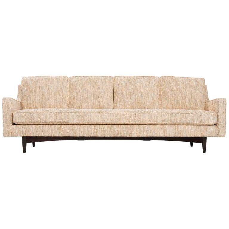 Woven Sofa in the Style of Borsani