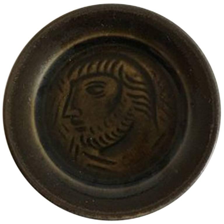 Royal Copenhagen Jais Nielsen Stoneware Plaquette #2710