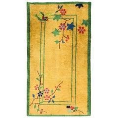Magnificent Antique Art Deco Chinese Rug