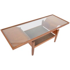 G Plan Bentwood Teak and Glass Coffee Table