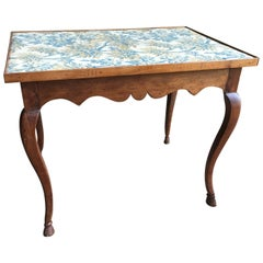 Louis XV Card Table, circa 1770