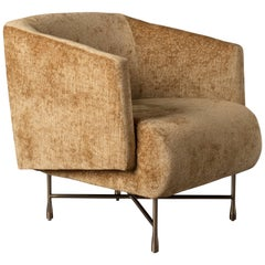 Bijoux Lounge Chair in Pascal Ochre