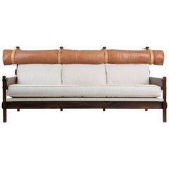 Tonico Sofa by Sergio Rodrigues for Brazilian Imports, circa 1960s