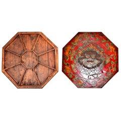 Tibetan Octagon Box, Feng Shui Bagua Tray