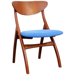 Danish Modern Teak Side Chair