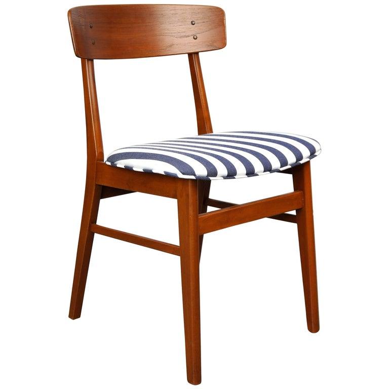Danish Modern Wegner Style Teak Chair