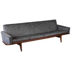 HW Klein Sculptural Teak Sofa