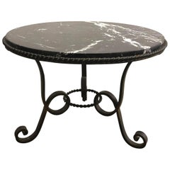 Marble-Top Cocktail Table, 1950