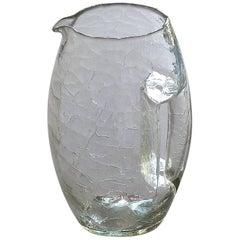 Vienna Secessionist Crystal Glass Vase Pitcher Koloman Moser Loetz Art Nouveau