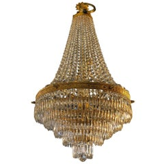 Fully Restored Second Empire Chandelier from the North of France