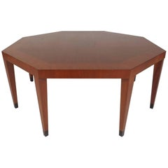 Vintage Modern Octagonal Coffee Table by Baker Furniture