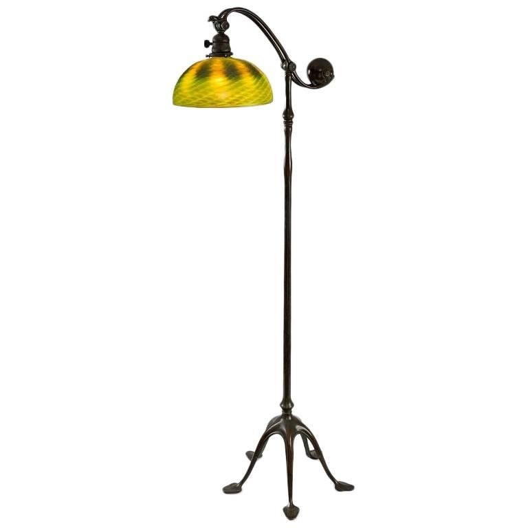 "Tiffany Studios ""Counter Balance"" Floor Lamp"