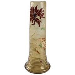 French Art Nouveau Cameo Glass by Émile Gallé