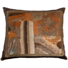 Antique Textile Pillow by B. Viz Designs