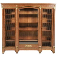 French Empire-Revival Bookcase