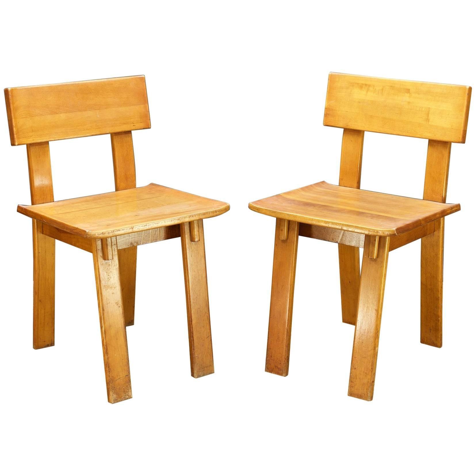 Superb 1935 Rare Russel Wright American Modern Furniture Design Conant Ball Chairs