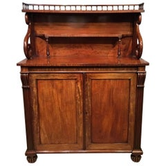 Mahogany Regency Period Antique Chiffonier Possibly by Gillows of Lancaster