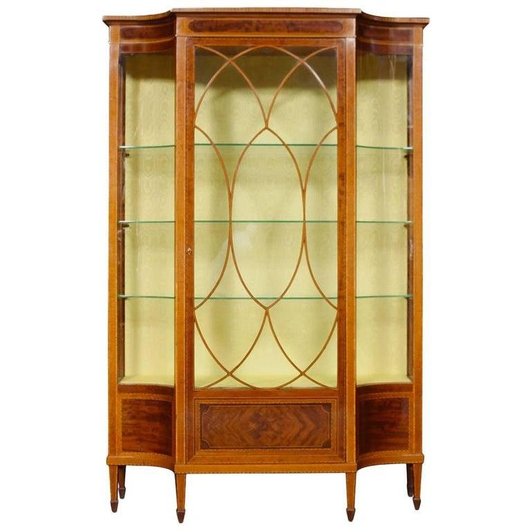 Sheraton Revival Display Cabinet