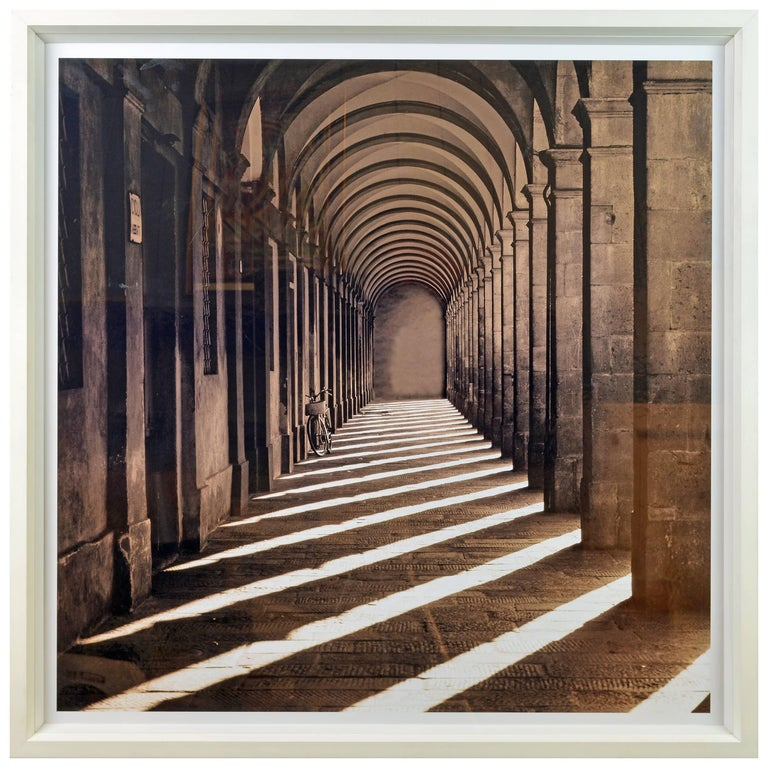 'Lucca Tuscany Italy' Photo by Charlie Waite for Trowbridge Gallery with COA For Sale