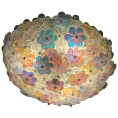 Lovely Murano Ceiling by Barovier & Toso, 1960