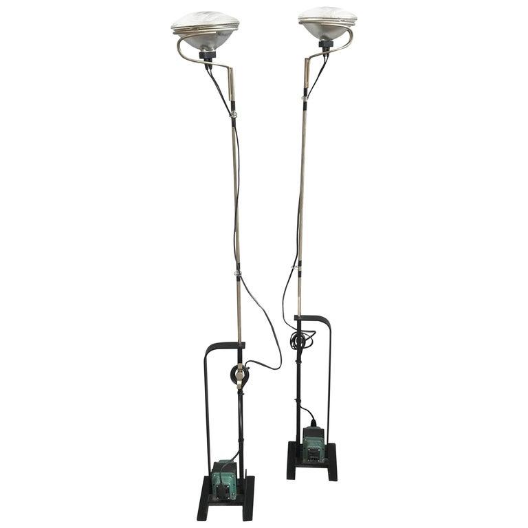 Toio floor lamps by achille castiglioni for flos for sale at 1stdibs toio floor lamps by achille castiglioni for flos for sale aloadofball Images