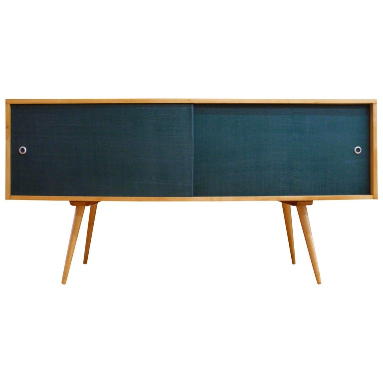 Mid-Century Modern Maple Credenza / Sideboard Designed by Paul McCobb