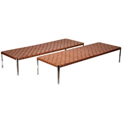 Pair of Large Benches by Laverne International
