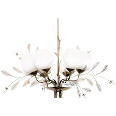 Chandelier by Paavo Tynell for Taito Oy