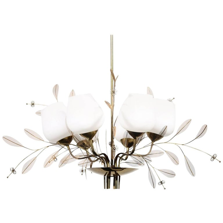 Chandelier by Paavo Tynell for Taito Oy For Sale