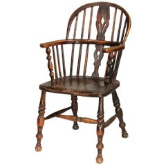 19th Century English Bow-Back Windsor Chair