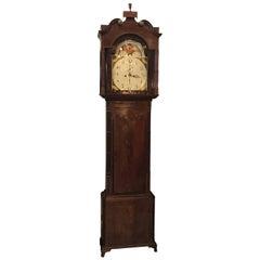 Mahogany Tall Case Clock, England, Early 19th Century
