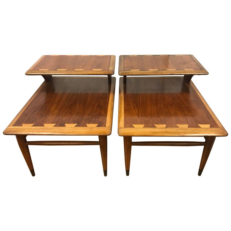 Vintage Andre Bus For Lane Acclaim Round Walnut Coffee