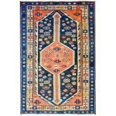 Vivid Early 20th Century Azeri Rug