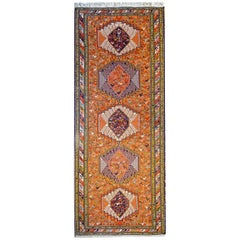 Whimsical Early 20th Century Sumak Rug