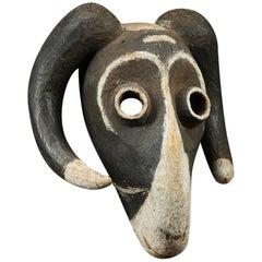 Eastern Pende Tribal Ram Mask, Congo, 'DRC'