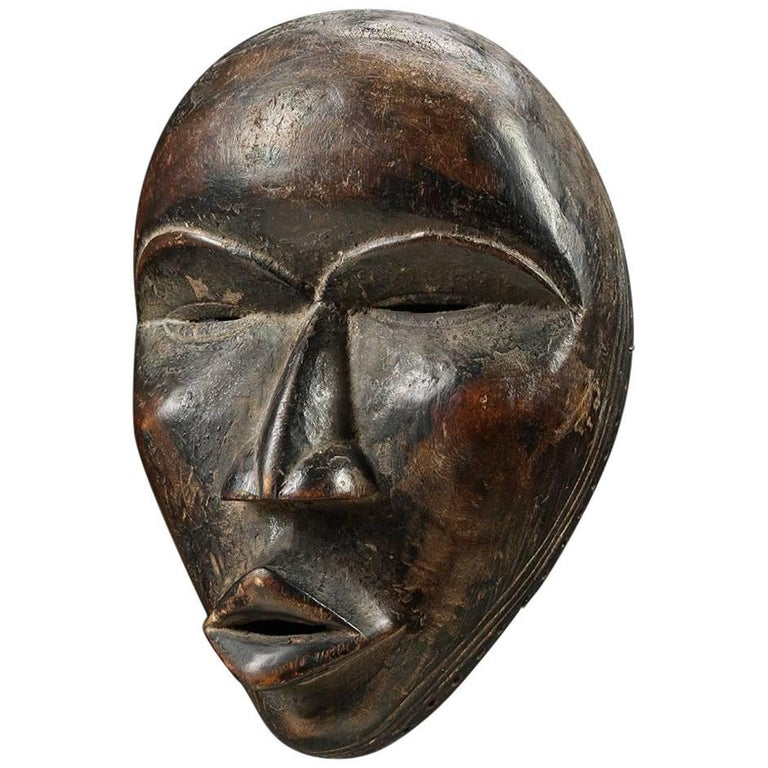 Tribal Dan Mask, Liberia, Early to Mid-20th Century, Africa