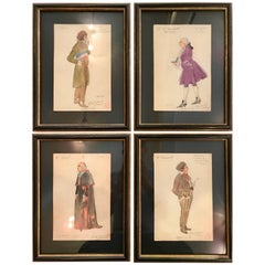 Original Opera and Theatre Costume Watercolor Designs by Charles Betout, Paris