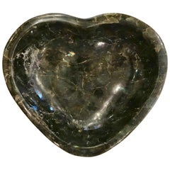 Large Heart Shaped Labradorite Vide-Poche