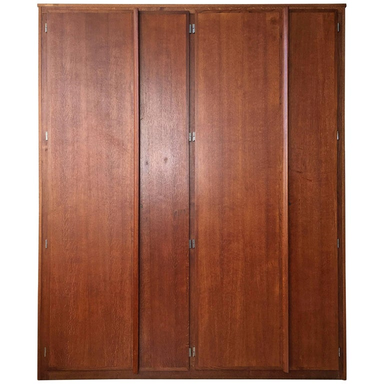Charlotte Perriand and Le Corbusier Tall Wardrobe For Sale