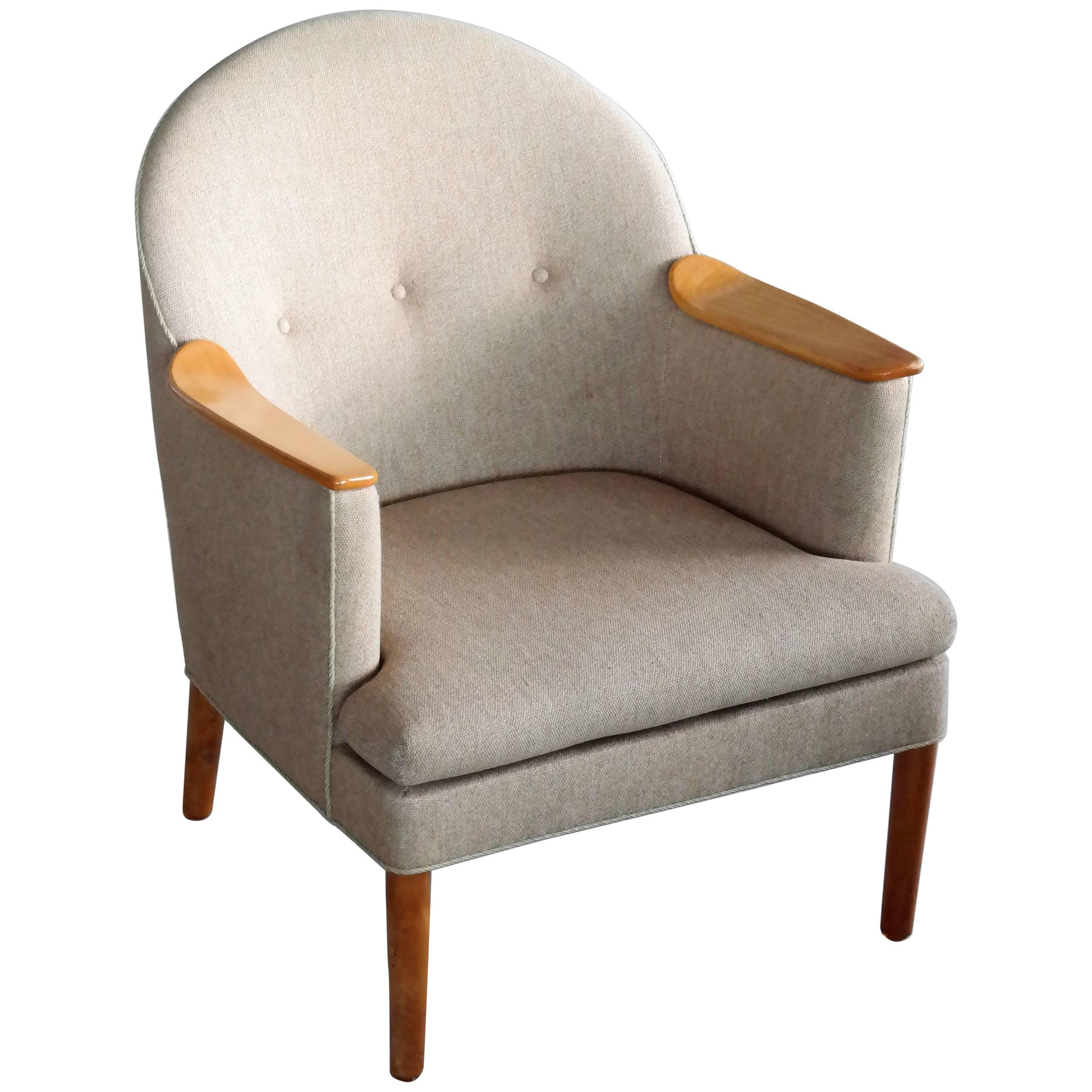 Danish Midcentury Lounge Chair by Poul M. Volther
