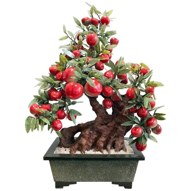Decorative Stone Bonsai Tree For Sale