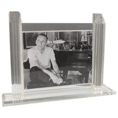Oggi Design Italy Large Lucite Picture Photo Frame
