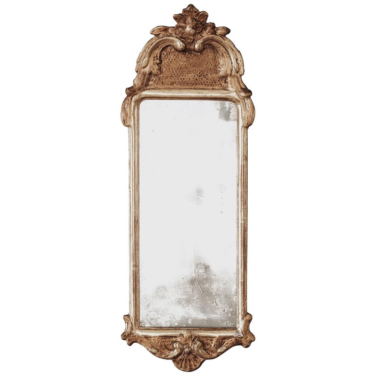 18th Century Rococo Mirror