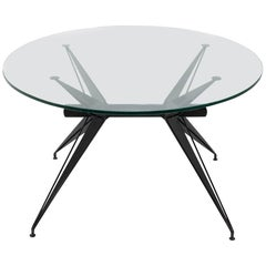 1960s Italian Modernist Table in the Style of Osvaldo Borsani for Tecno