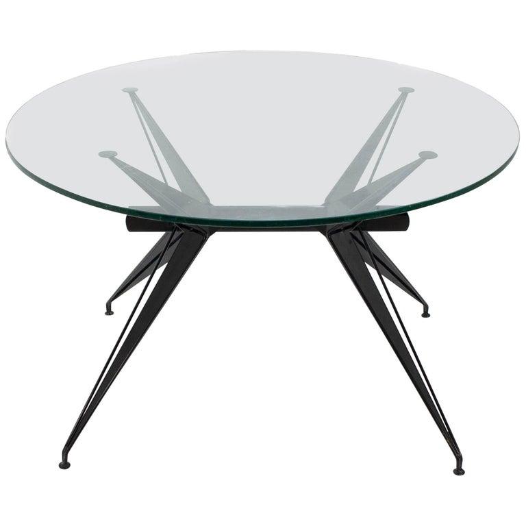 1960s Italian Modernist Table in the Style of Osvaldo Borsani for Tecno